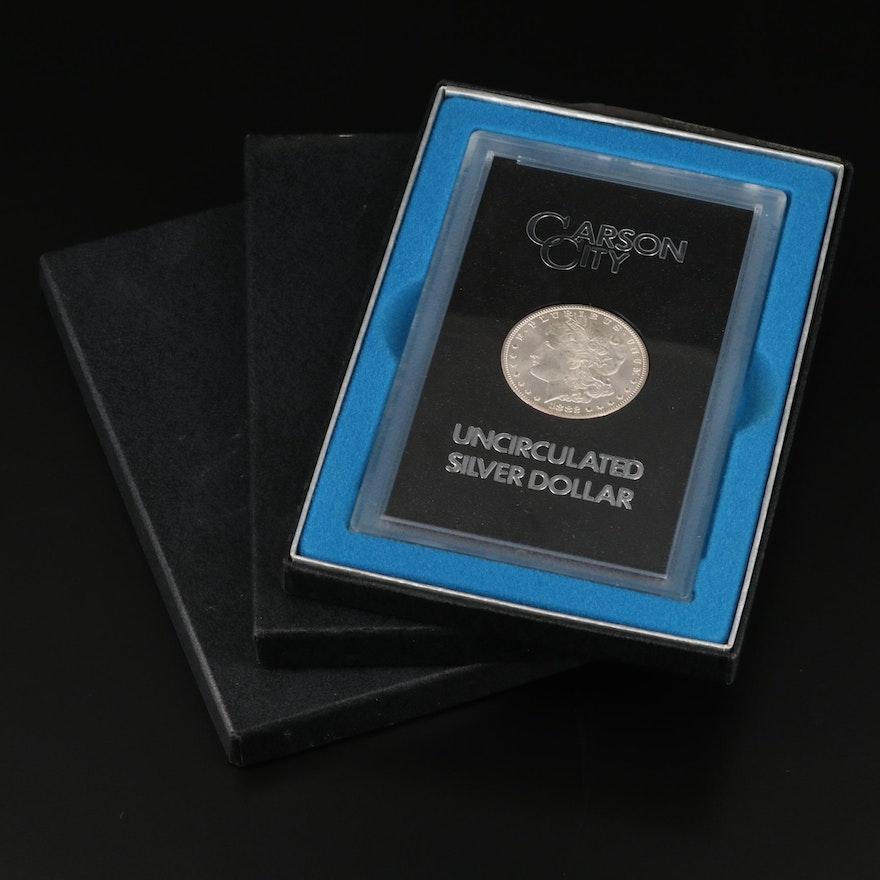 1882-CC, 1883-CC, and 1884-CC GSA Morgan Silver Dollars