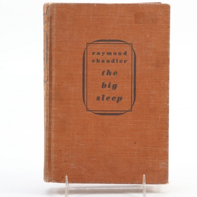 "First Edition ""The Big Sleep"" by Raymond Chandler, 1939"