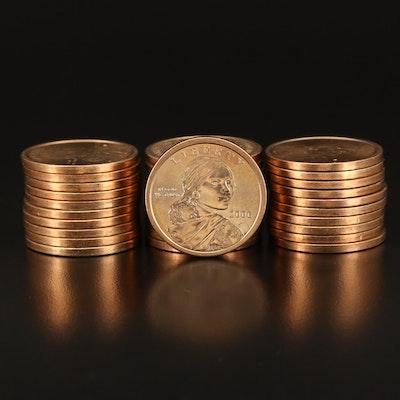 Thirty-One Sacagawea Dollars
