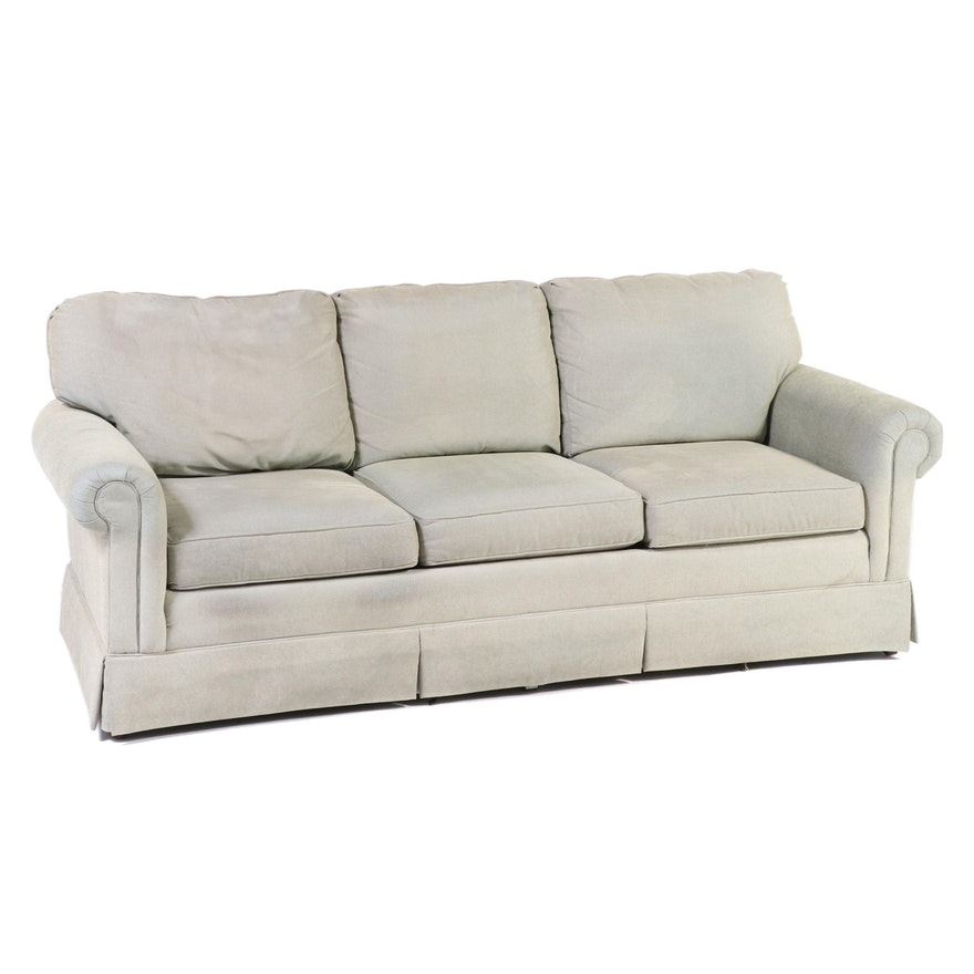 C.R. Laine Upholstered Rolled-Arm Sofa