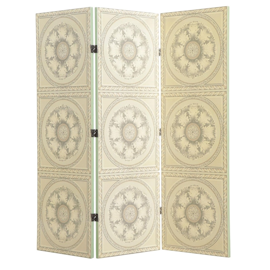 Neoclassical Style Room Divider, circa 2000