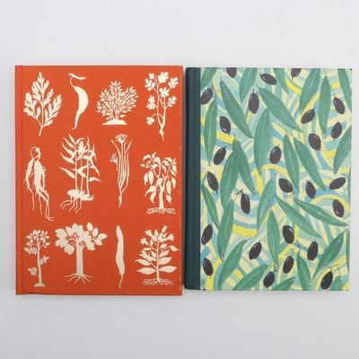 """Folio Society """"The Spice Route"""" and """"A Book of Mediterranean Food"""""""