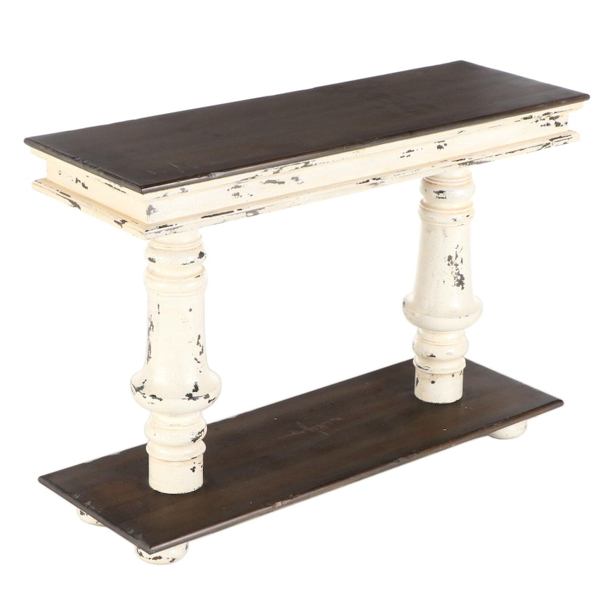 Guild Master Rustic Style Console Table