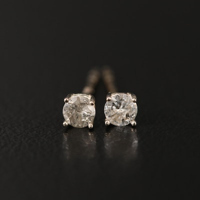 14K 0.22 CTW Diamond Stud Earrings