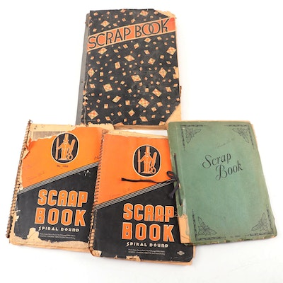 Scrapbook Collection Containing Articles on Cincinnati's 1937 Flood