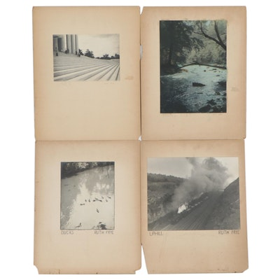 Ruth Frye Silver Print and Silver Gelatin Photographs, Mid-20th Century