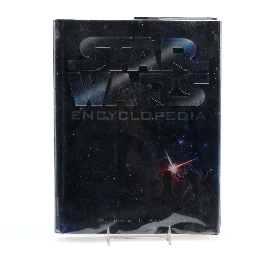 """First Edition """"Star Wars Encyclopedia"""" by Stephen J. Sansweet, 1998"""