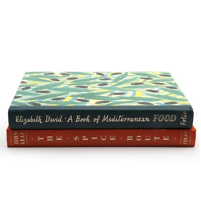 "Folio Society ""The Spice Route"" and ""A Book of Mediterranean Food"""