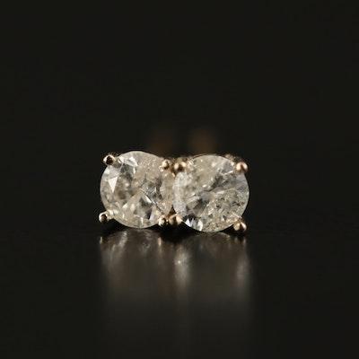 14K 0.22 CTW Diamond Stud Earrings