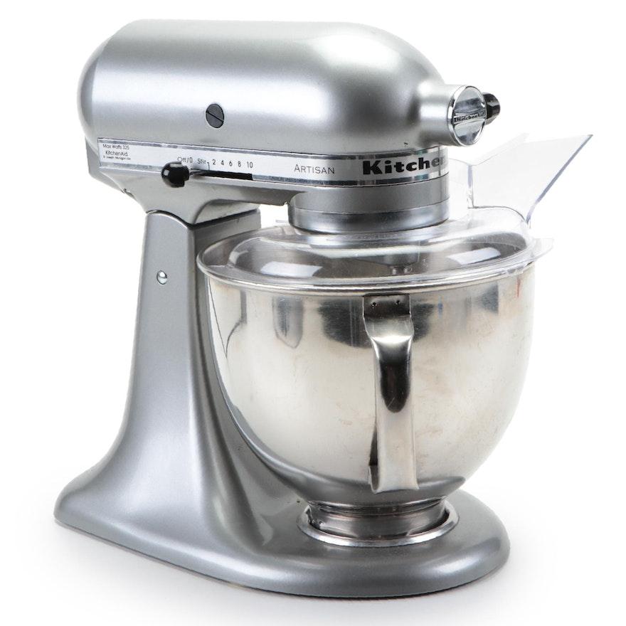 KitchenAid Artisan Series Silver 5-Qt. Stand Mixer