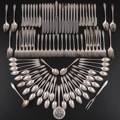 "Oneida Community Plate ""Lady Hamilton"" Silver Plate Flatware and Utensils"