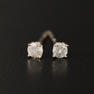 14K 0.28 CTW Diamond Stud Earrings
