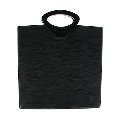Louis Vuitton Ombre Handbag in Black Epi Leather