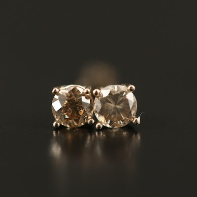 14K 0.23 CTW Diamond Stud Earrings