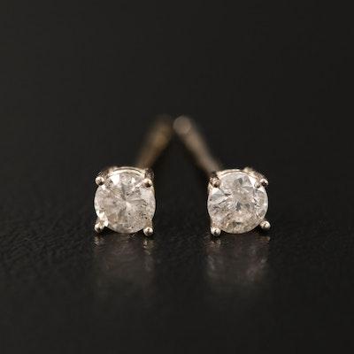 14K 0.25 CTW Diamond Stud Earrings
