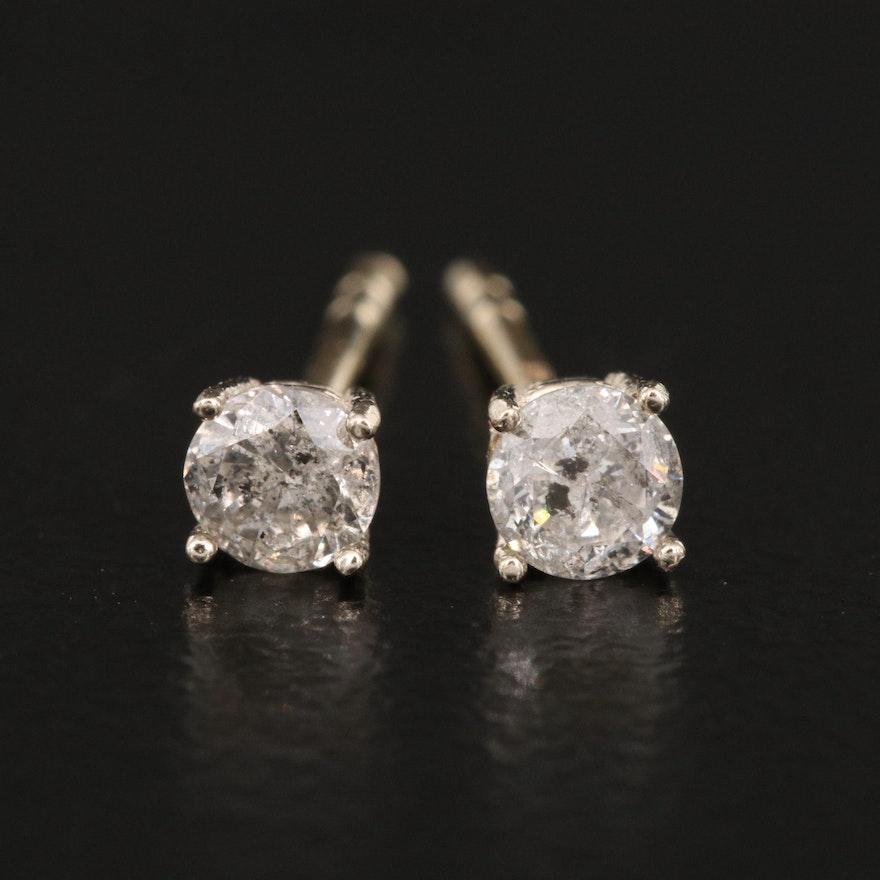 14K 0.27 CTW Diamond Stud Earrings