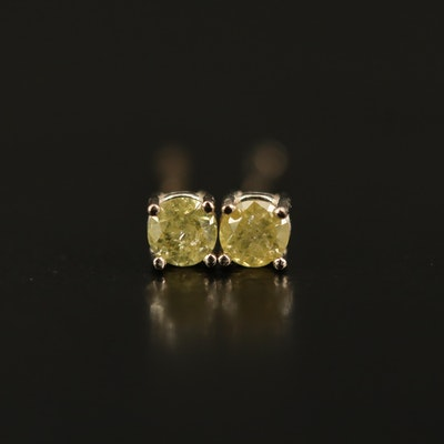 14K 0.13 CTW Diamond Stud Earrings