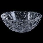 """Tiffany & Co. """"Rock Cut"""" Crystal Bowl"""