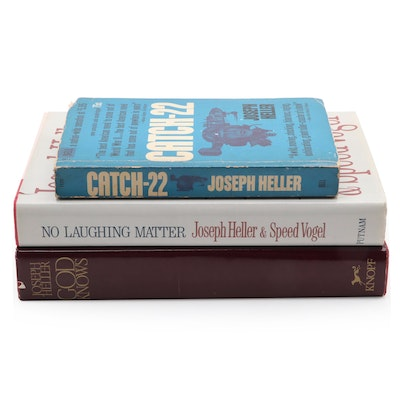 """Signed First Trade Edition """"God Knows"""" and More by Joseph Heller"""