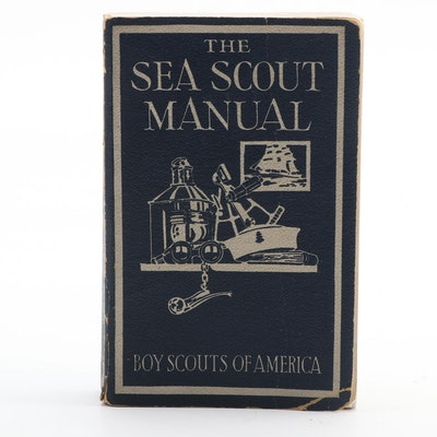 """The Sea Scout Manual,"" from Boys Scouts of America, 1941"