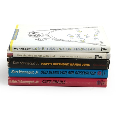 "First Edition ""Happy Birthday, Wanda June"" and More Books by Kurt Vonnegut"