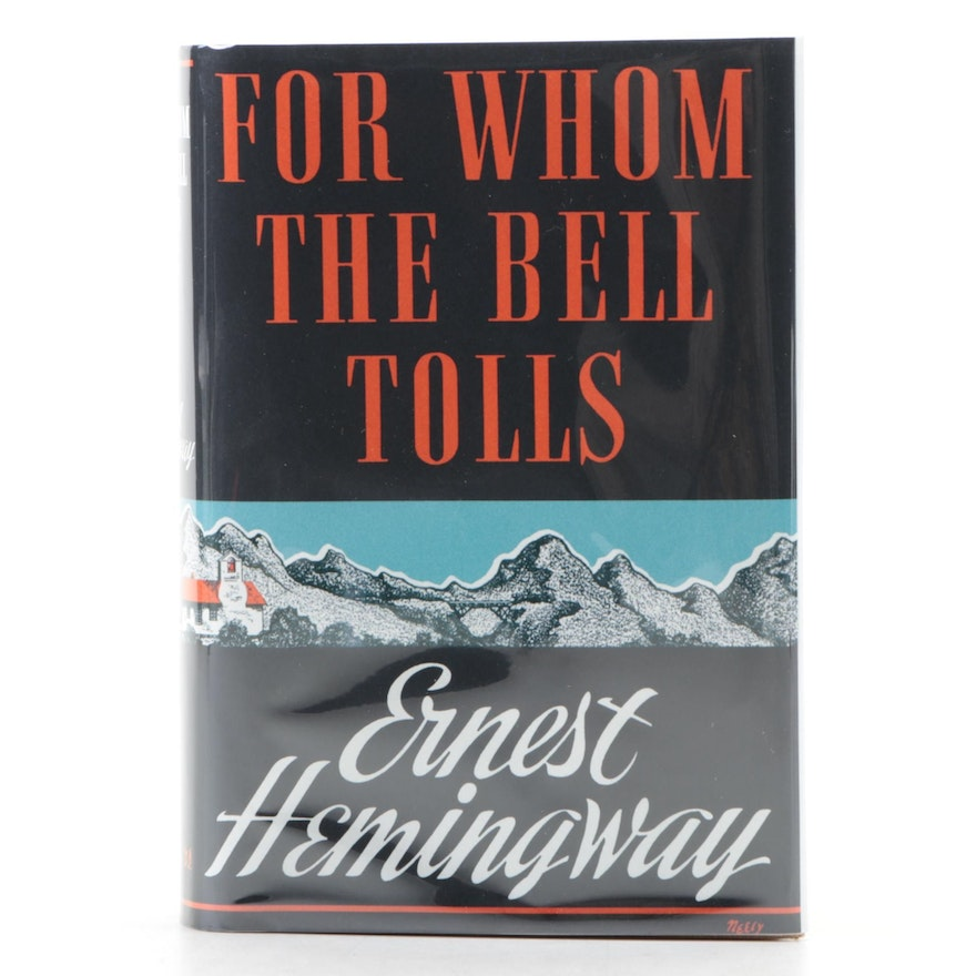 """First Edition, First Printing """"For Whom the Bell Tolls"""" by Ernest Hemingway"""