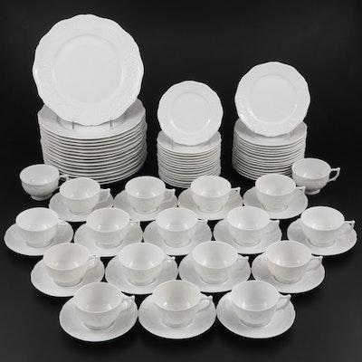 """A. Raynaud & Co. Céralene Limoges """"Hawthorn"""" Porcelain Dinnerware, 1986–1996"""