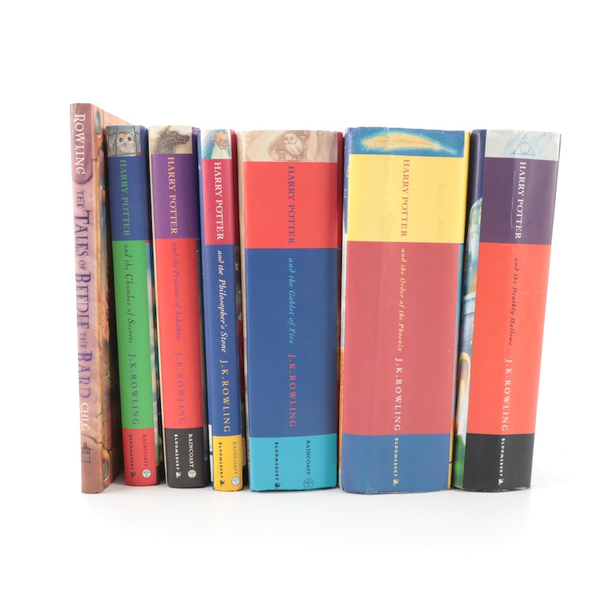 """First UK Edition """"Harry Potter"""" Books with Canadian Editions and More"""
