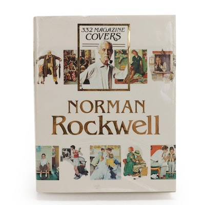 """Norman Rockwell: 332 Magazine Covers,"" by Christopher Finch, 1979"