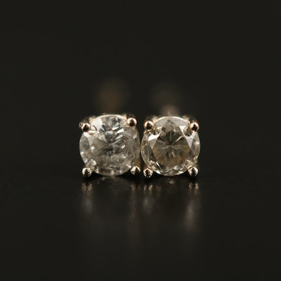 14K 0.21 CTW Diamond Stud Earrings