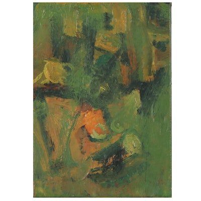 Arthur Cole Abstract Oil Painting, 2006