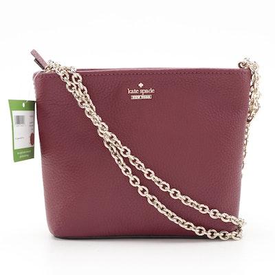 Kate Spade Jackson Street Ellery Crossbody Bag in Pebble Grain Leather