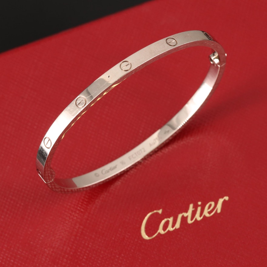 "Cartier ""Love"" 18K Bangle"