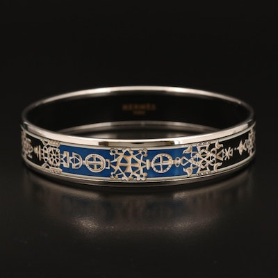Hermès Enamel Bangle