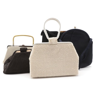 Cordé, Lumered Beaded, Garay, and Block Frame Handbags