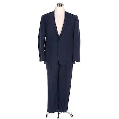 Men's Lauren Ralph Lauren Blue Wool Two-Piece Suit