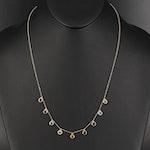 EFFY 14K Multi-Gemstone Station Necklace