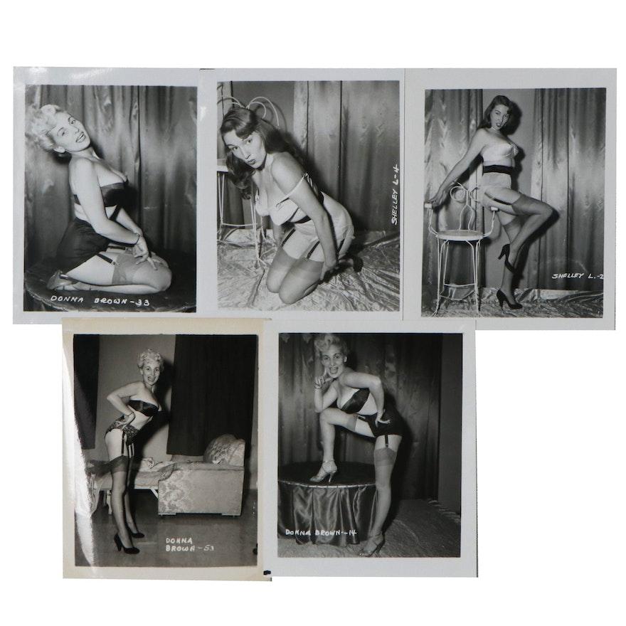 Pin-Up Silver Gelatin Photographs after Irving Klaw