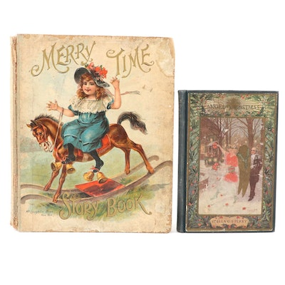 """The Angel of Christmas"" and ""Merry Time Story Book,"" Early 20th Century"