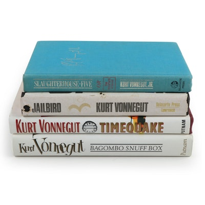 "Fifth Printing ""Slaughterhouse-Five"" and More Kurt Vonnegut Novels"
