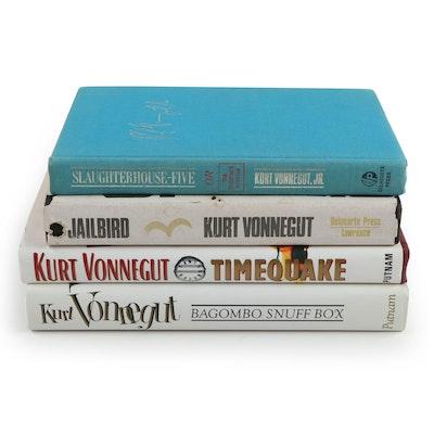 "Fifth Printing ""Slaughterhouse-Five"" and More Kurt Vonnegut Novels"