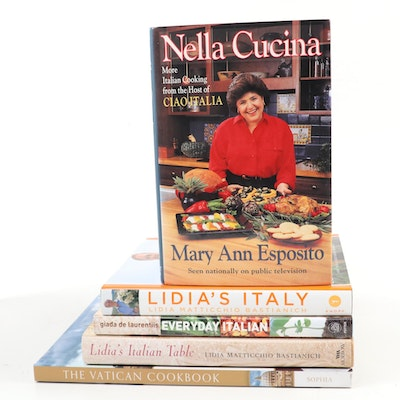 "First Edition ""Everyday Italian"" by Giada De Laurentiis and More Cookbooks"