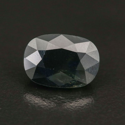 Loose 4.66 CT Oval Faceted Sapphire