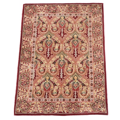 """3'6 x 5' Hand-Tufted Capel """"Burma Silk-Newport"""" Wool and Silk Area Rug"""