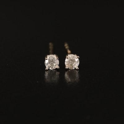 14K 0.23 CTW Diamond Stud Earrings