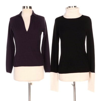 Loro Piana and Magaschoni Cashmere Sweaters