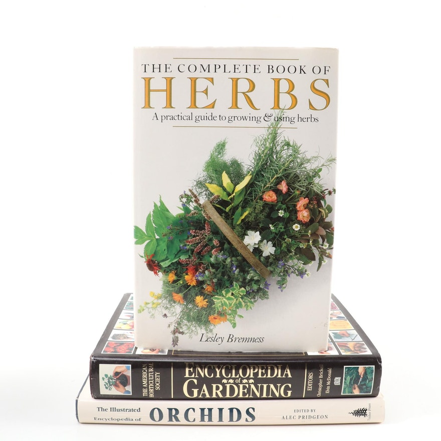 """First American Edition """"Encyclopedia of Gardening"""" and More Gardening Books"""