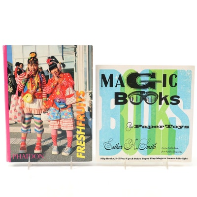 """First Edition """"Magic Books and Paper Toys"""" by Esther K. Smith and More"""