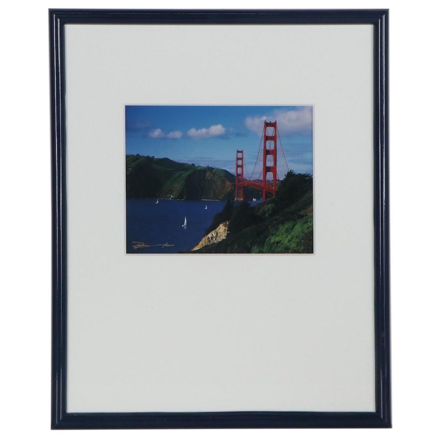 Giclée of Golden Gate Bridge, Late 20th Century