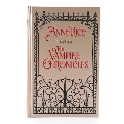 "Ninth Printing ""The Vampire Chronicles"" by Anne Rice, 2009"